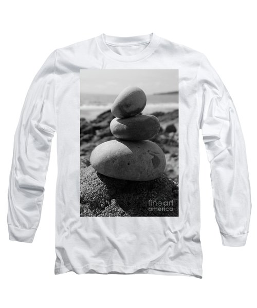Fine Art - Pebbles Long Sleeve T-Shirt