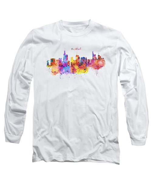 Frankfurt Skyline Long Sleeve T-Shirt