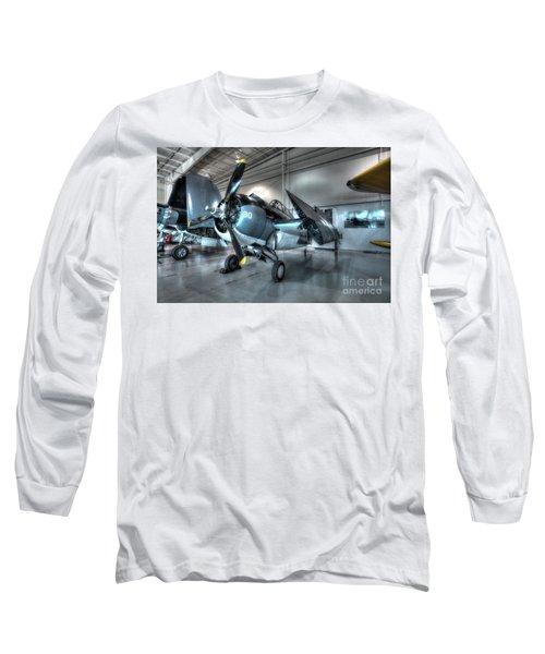 Grumman - Fm-2 Wildcat Long Sleeve T-Shirt