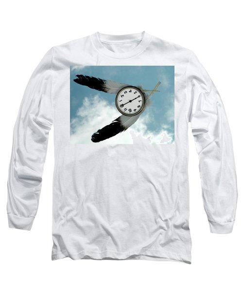 How Time Flies Long Sleeve T-Shirt