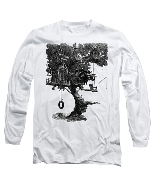 Lake Front Dream House Long Sleeve T-Shirt