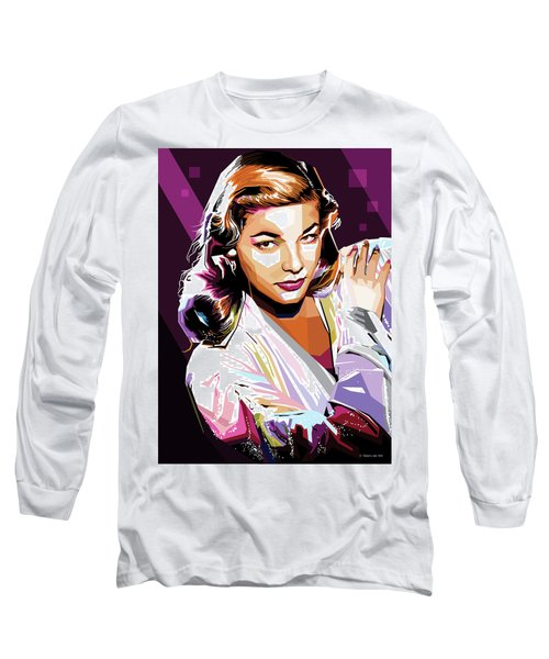 Lauren Bacall Long Sleeve T-Shirt