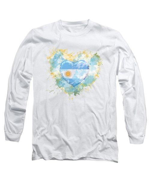 Love Argentina Long Sleeve T-Shirt