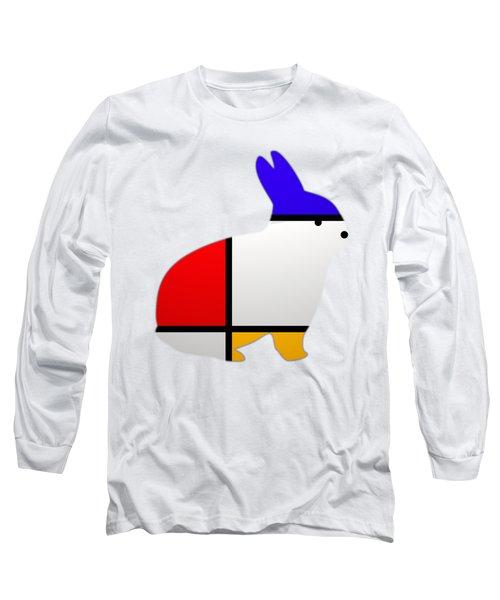 Modern White Long Sleeve T-Shirt