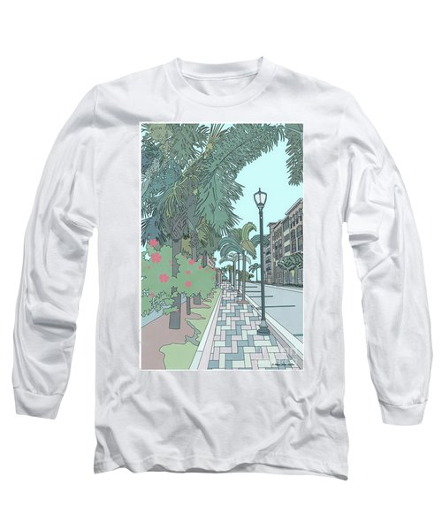 Orange Avenue Long Sleeve T-Shirt