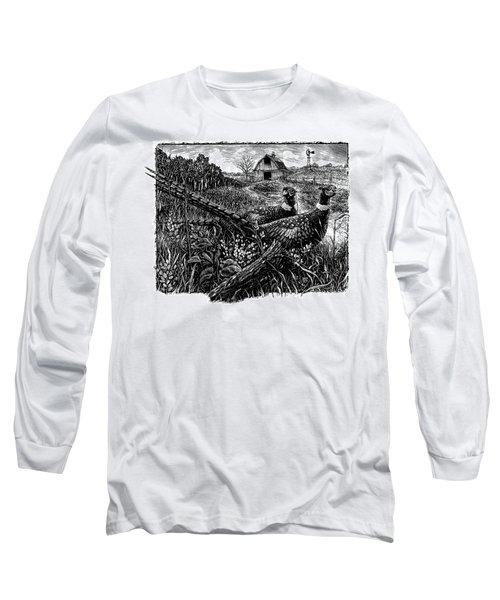 Pheasants Long Sleeve T-Shirt
