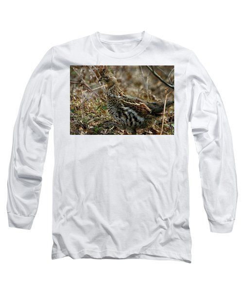 Ruffed Grouse 50702 Long Sleeve T-Shirt