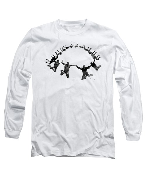 Team Group Skydiver Long Sleeve T-Shirt