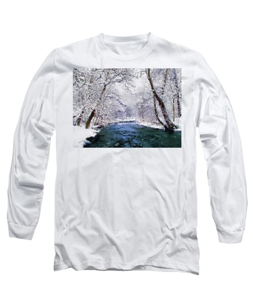 Winter White Long Sleeve T-Shirt