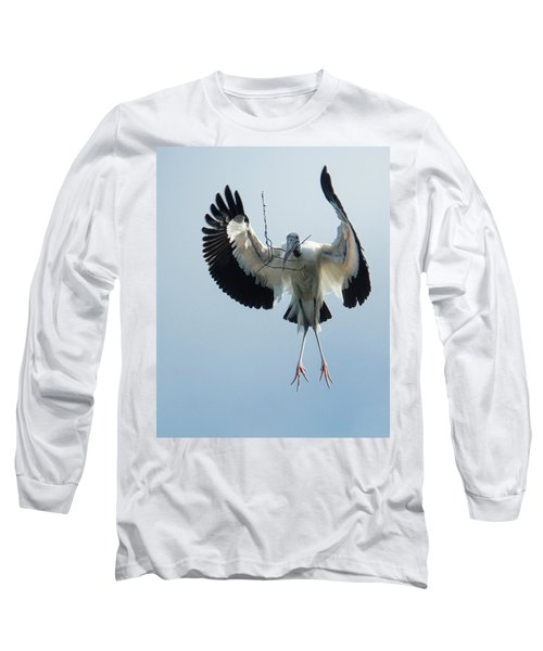 Woodstork Nesting Long Sleeve T-Shirt