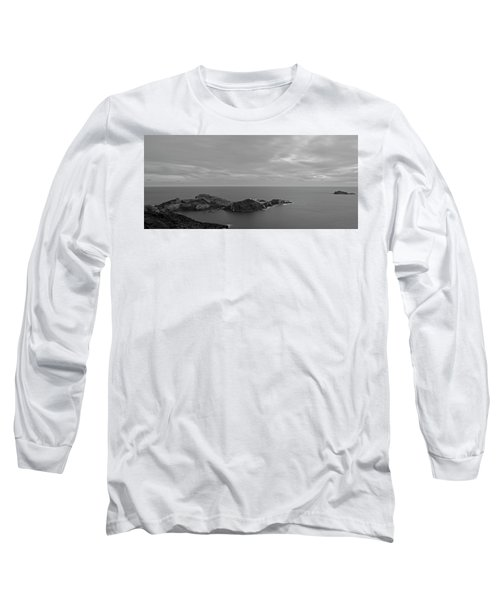 Dawn In Black And White In The Cap De Creus Long Sleeve T-Shirt