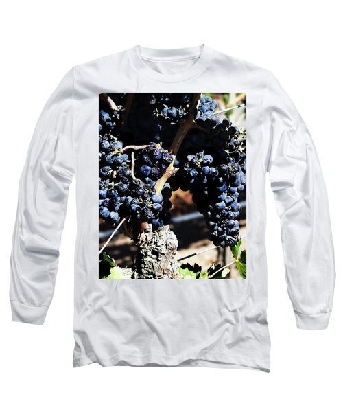 122918 Wine On The Vine Long Sleeve T-Shirt