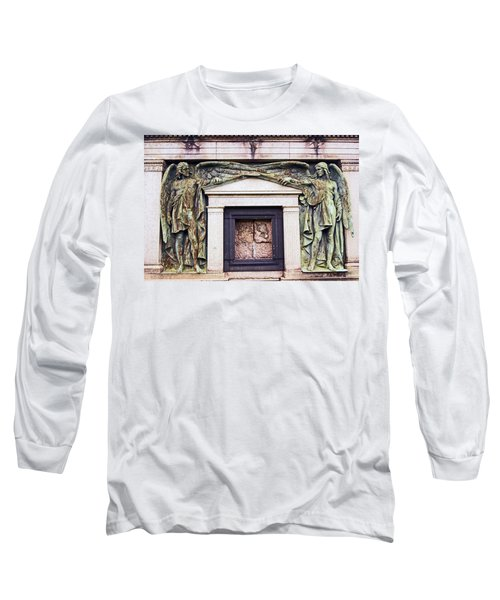18/09/13 Glasgow. The Necropolis, Double Angels. Long Sleeve T-Shirt