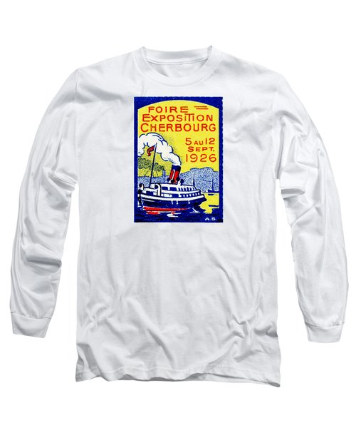 1926 Cherbourg France Exposition Long Sleeve T-Shirt