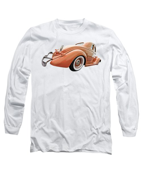 1935 Ford Coupe In Bronze Long Sleeve T-Shirt