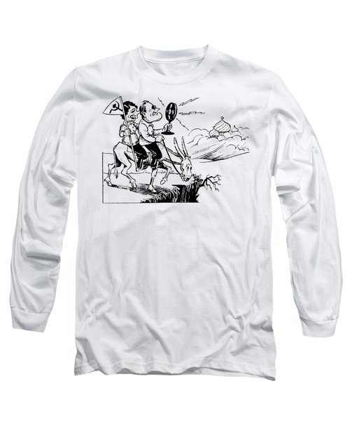 1935 Franklin D. Roosevely, Communist Long Sleeve T-Shirt