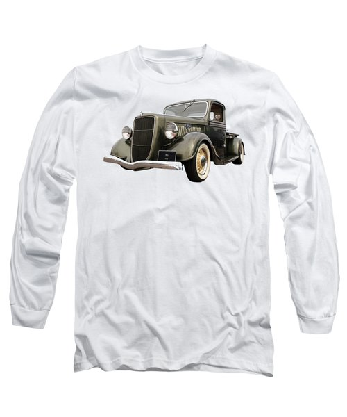 1936 Ford V8 Long Sleeve T-Shirt