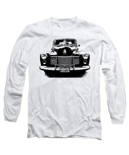 1941 Cadillac Front Blk Long Sleeve T-Shirt