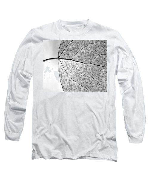 Aspen Leaf Veins Long Sleeve T-Shirt