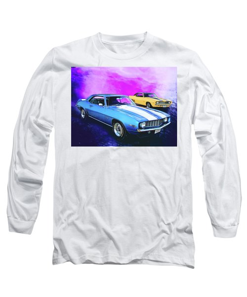 2 Camaros Long Sleeve T-Shirt