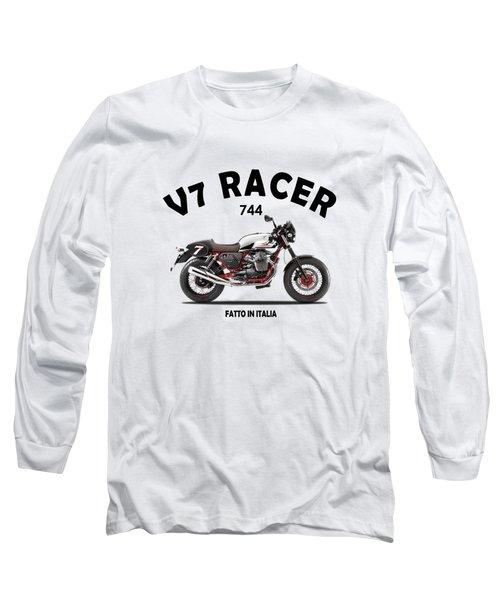 Moto Guzzi V7 Racer Long Sleeve T-Shirt