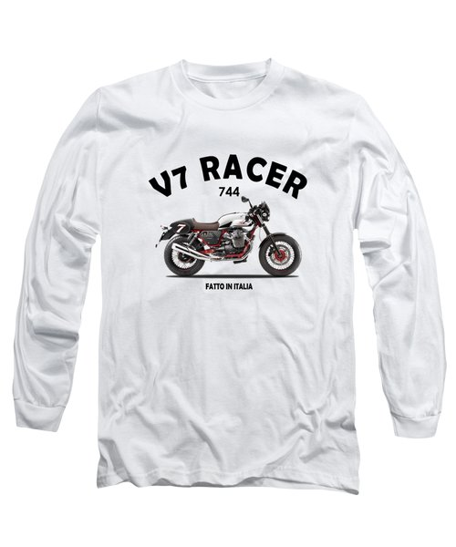 Moto Guzzi V7 Racer Long Sleeve T-Shirt
