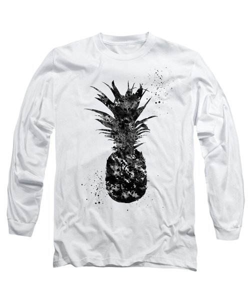 Pineapple-black Long Sleeve T-Shirt