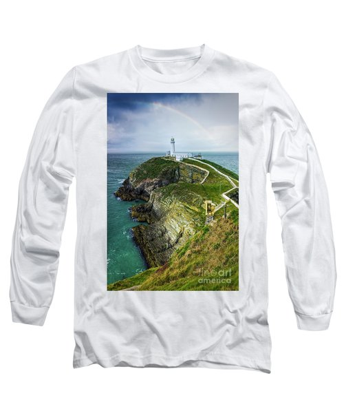 South Stack Lighthouse Long Sleeve T-Shirt