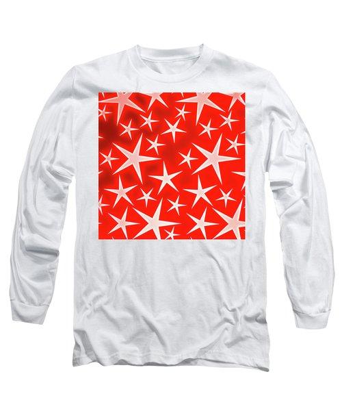 Star Burst 3 Long Sleeve T-Shirt