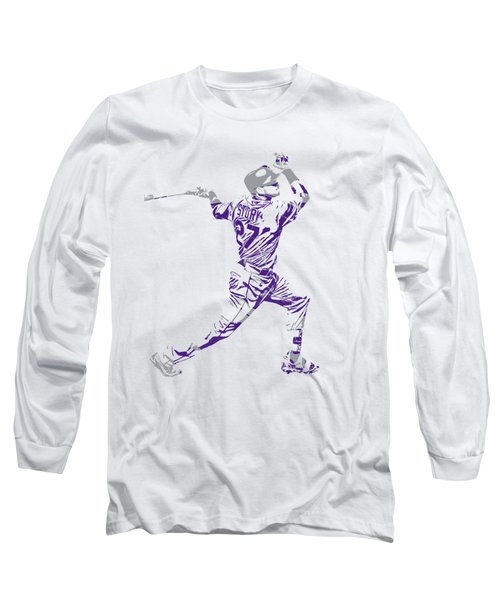 Trevor Story Colorado Rockies Pixel Art 11 Long Sleeve T-Shirt