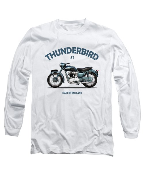 Triumph Thunderbird 1955 Long Sleeve T-Shirt