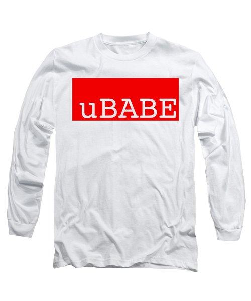 uBABE Label Long Sleeve T-Shirt
