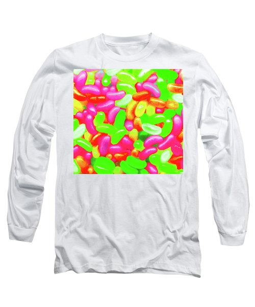 Vibrant Jelly Beans Long Sleeve T-Shirt