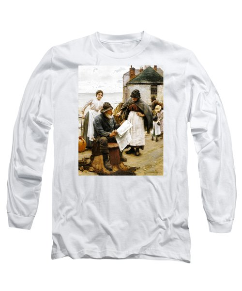 When The Boats Are Away Long Sleeve T-Shirt