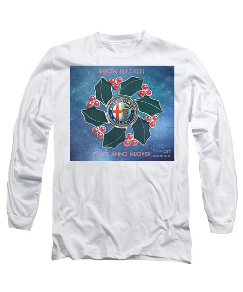 2014 Alfa Club Christmas Card Long Sleeve T-Shirt