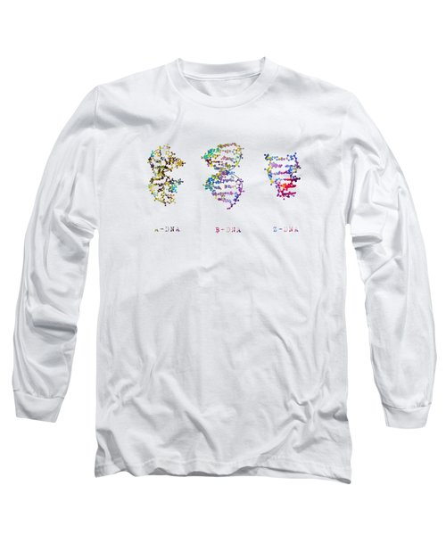 A-,b-, And Z-dna Long Sleeve T-Shirt