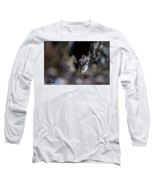 Grey Tree Frog Long Sleeve T-Shirt
