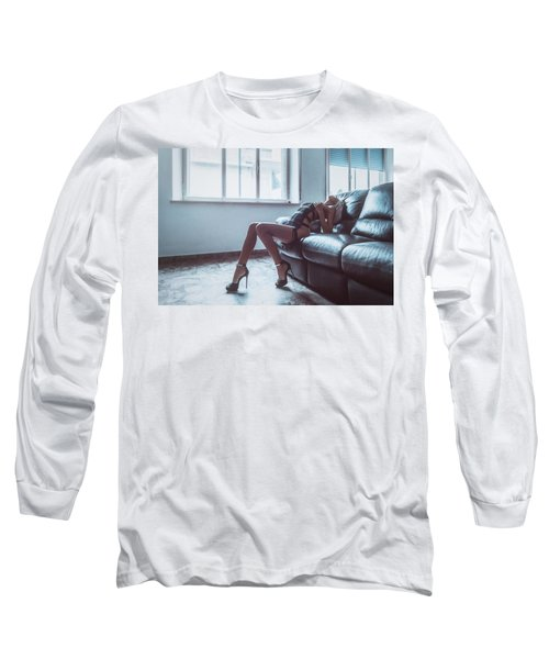 Long Sleeve T-Shirt featuring the photograph 3904 by Traven Milovich