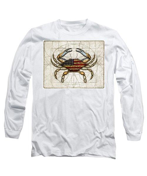 4th Of July Crab Long Sleeve T-Shirt