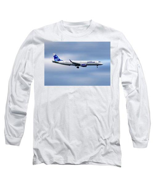 Jetblue Airways Embraer Erj-190ar Long Sleeve T-Shirt