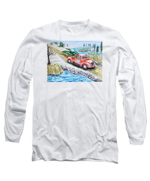 A Cape Cod Christmas Long Sleeve T-Shirt