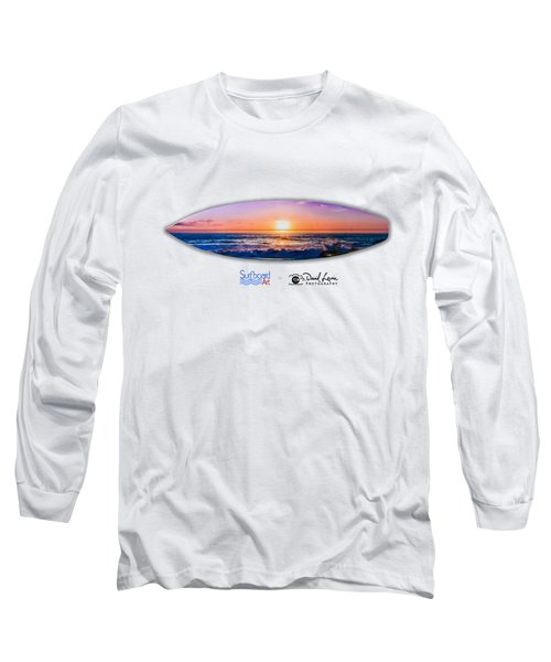 A Purple Orange Majestic Sunset For T-shirts Long Sleeve T-Shirt