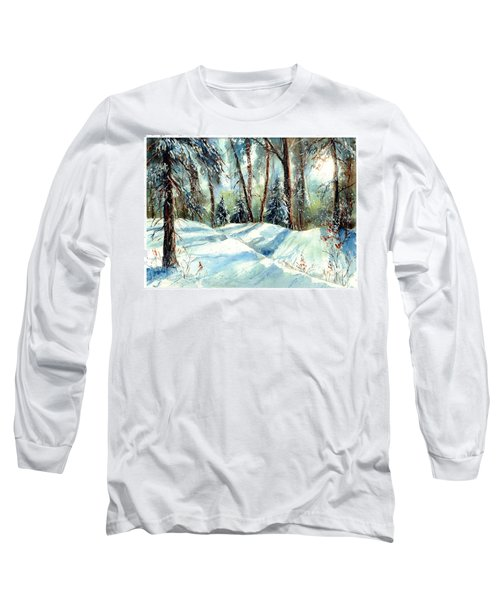 A True Winter Wonderland Long Sleeve T-Shirt