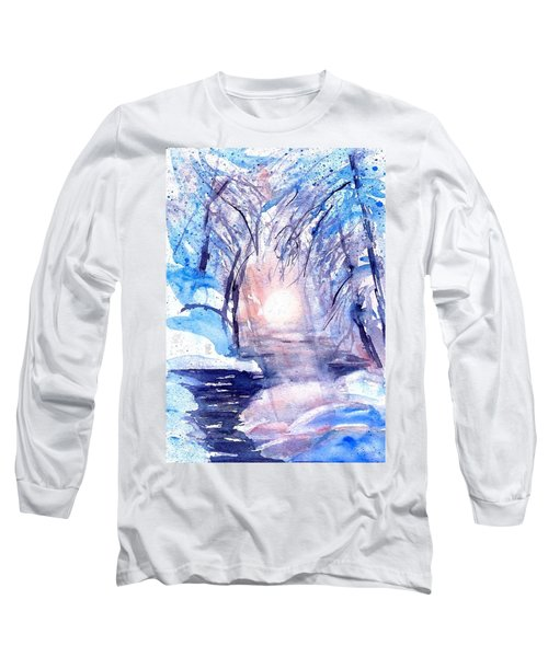A Winters Dream Long Sleeve T-Shirt