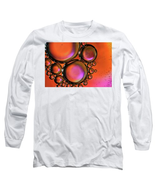 Abstract Droplets Long Sleeve T-Shirt