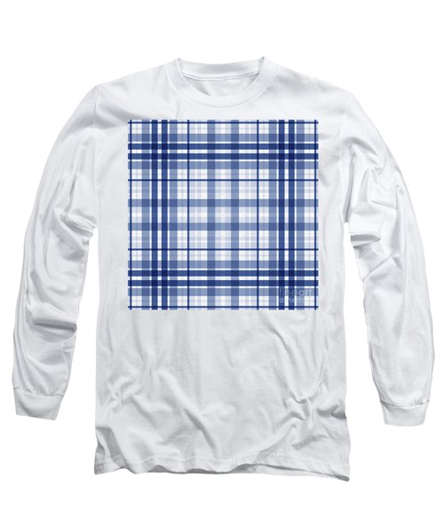 Abstract Squares And Lines Background - Dde611 Long Sleeve T-Shirt