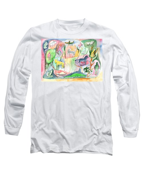 Abstraction Living World Long Sleeve T-Shirt