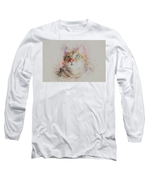 Abyssinian Cat Long Sleeve T-Shirt