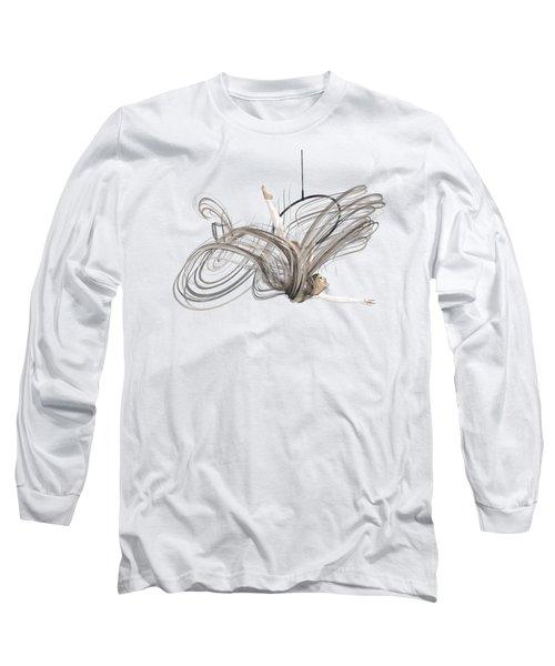 Aerial Hoop Dancing I Am Flight Long Sleeve T-Shirt