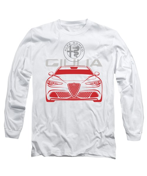 Alfa 2017 Giulia Long Sleeve T-Shirt